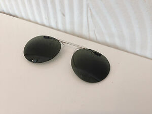 7c3b49a14e CUSTOM FLIP-UP CLIP-ON 4 OLIVER PEOPLES 43MM RILEY-R (SILVER)