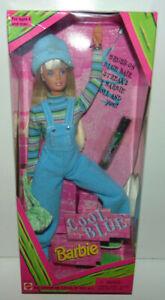 Cool Blue 1997 Barbie Doll Mattel Vintage Brush On Hair Color 20122 Nrfb Mint 74299201226 Ebay