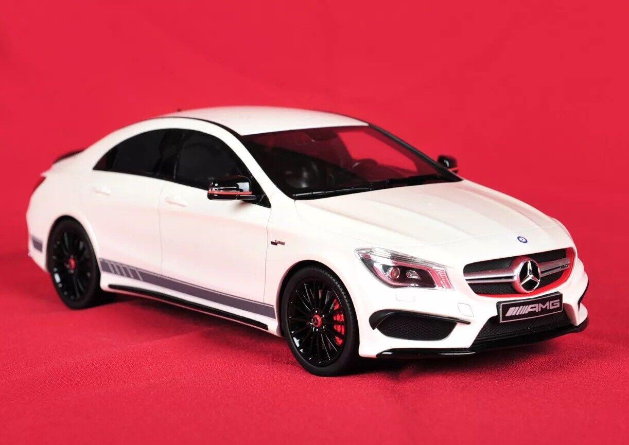 Mercedes CLA 45 AMG Weiß Edition Limited auf 1000 1 18 GT Spirit Weiß NEU NEW