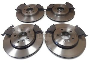 BMW-E46-330-330D-TOURING-ESTATE-99-05-FRONT-AND-REAR-BRAKE-DISCS-amp-PADS-SET-NEW