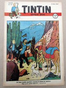 TINTIN-HERGE-FASCICULE-NO-19-DU-8-MAI-1947-TBE