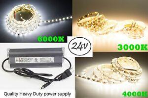 LEDUPDATES-S-SHAPE-LED-STRIP-2835-24V-UL-Heavy-Duty-Power-Supply-3000K-6000K
