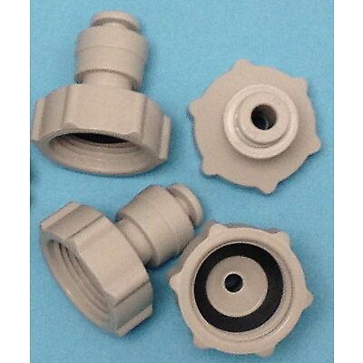 """Water Filter/RO Inlet Tap Connector Push-Fit 3/4""""-1/4"""""""