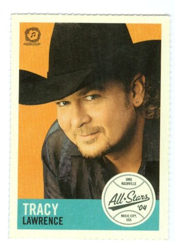Tracy Lawrence 2004 MCA CMA umg voter request All Stars baseball card MINT