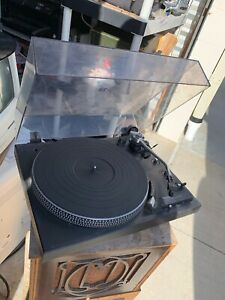 Turntable-Technics-SL-1900-Fully-Automatic-Direct-Drive-As-Is-Spins-No-Stylus