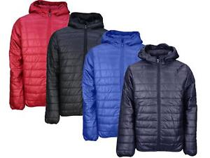 1f6d53f8b Details about Mens Soul Star Hester Lightweight Packaway Hooded Puffa  Jacket - Pouch Included