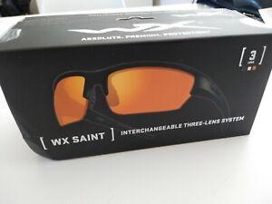 Glorieux Wiley X Saint Fumée/effacer/rust 3 Lens Combo Chsai 06 ~ Wx Saint Nouveau-st 3lens Combo Chsai06 ~ Wx Saint New Fr-fr Afficher Le Titre D'origine