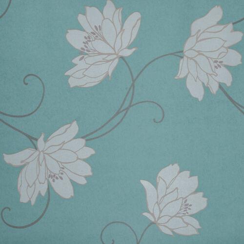 CORALI 4430-2 AUSVERKAUF PAPIER Tapete Farbe Minze Design Tapete