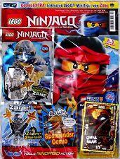 LEGO NINJAGO Magazin inkl. Zubehör Nr.17/2016 September Limited Edition!!