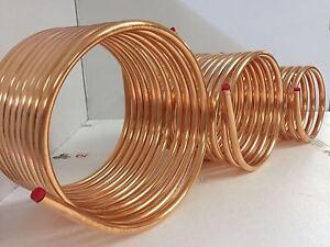 Spirale aus kupferrohr 12x1mm weich aus 10m mit ca 30cm - Kupferrohr kaufen ...
