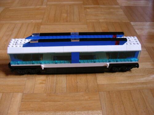 LEGO Bausteine & Bauzubehör Trains, City, Zug Lego 9V Eisenbahn Auto-Transportwaggon  aus Set 4560/4561 Baukästen & Konstruktion