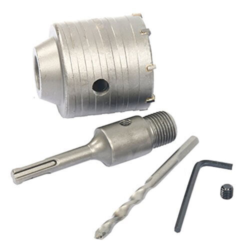 Sds Plus Shank Concrete Cement Stone Wall Hole Saw Drill Bit Hole Saw Cutte