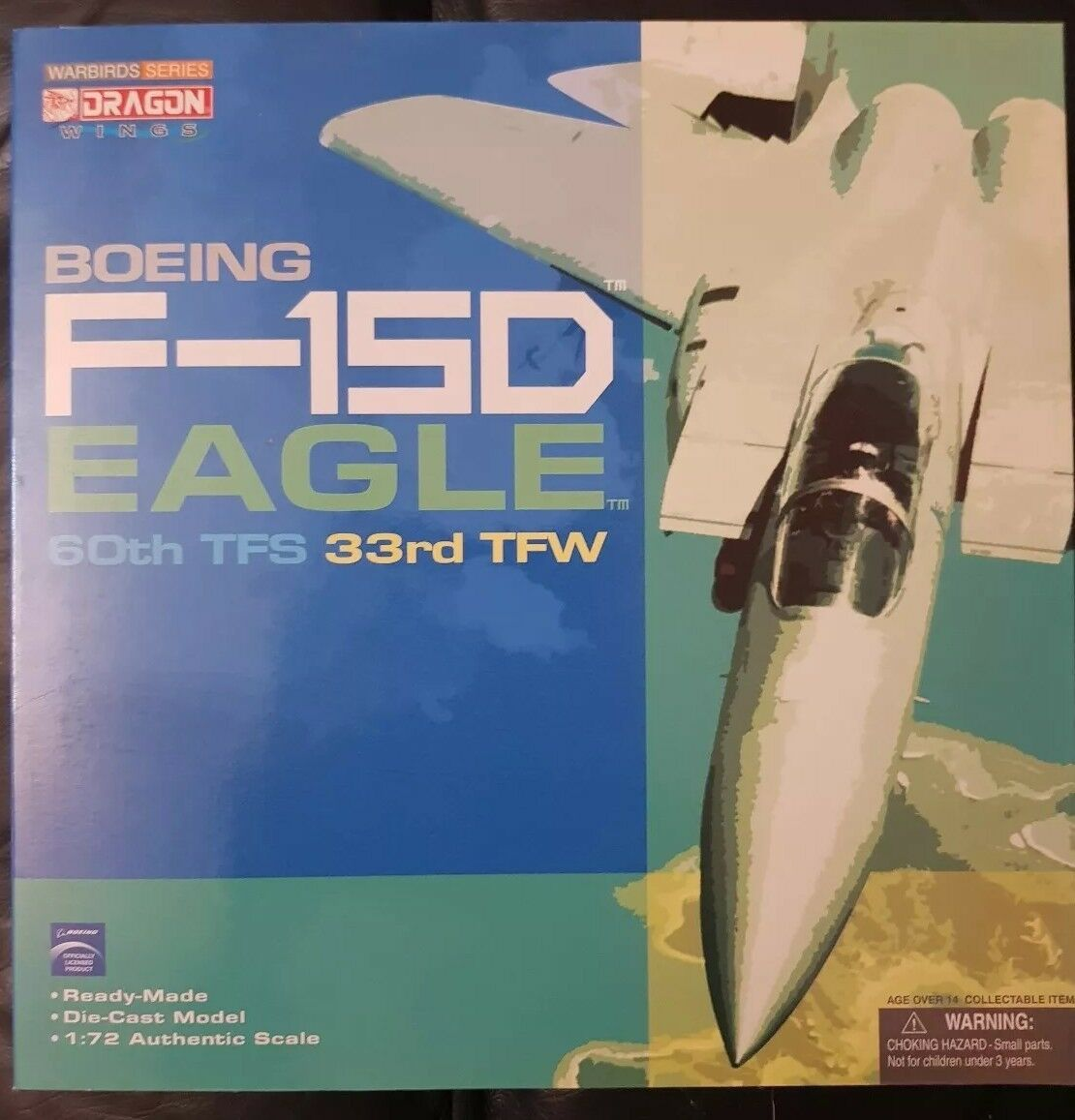 Dragon Wings WARBIRDS série Boeing F-15D Strike Eagle 60th TFS 33rd TFW 50145