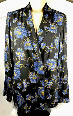 TOPSHOP Double Breasted Sleeveless Jacket Blazer in Navy Size 6 to 12
