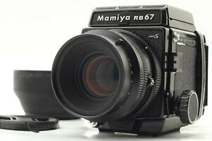 quasi-Nuovo-di-zecca-Mamiya-RB67-PRO-S-fotocamera-K-L-127mm-F3-5-L-KL-Lens-120-FB-Giappone-698