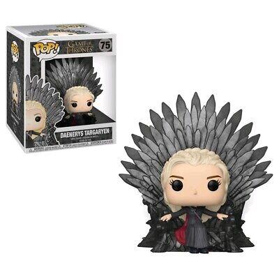 Pop! Vinyl--Game of Thrones - Daenerys on Iron Throne Pop! Deluxe