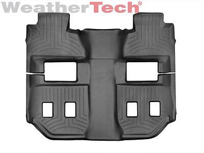 3rd Row 2nd Black WeatherTech Custom Fit FloorLiner for Suburban//Yukon XL 1st