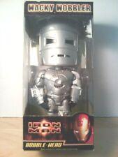 Grey Iron Man Wacky Wobbler Bobblehead Toy Marvel 2008 MIB New In Box Funko