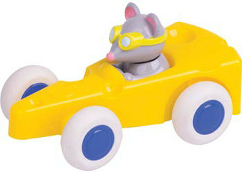 """NEW Viking Toys Sweden 5/"""" Chubbies Cute Racer Mouse in a Cheese 1360"""