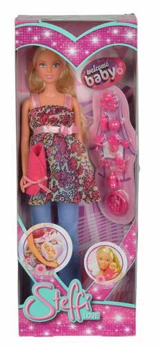 Barbie Embarazada Muñeca Embarazada Bebé 13 Accesorios