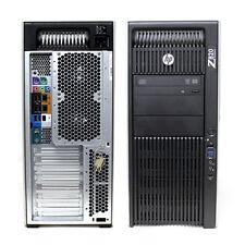 HP Z820 Workstation 2x E9D26US E5-2690 32GB RAM 4TB HDD Windows 10