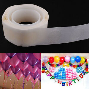 200-Dots-Glue-Permanent-Sided-Dots-Adhesive-For-Wedding-Party-Balloon-Decor-NEW
