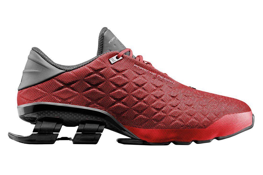 Adidas Porsche Design Sport Bounce shoes S4 LUX II Mens Run Red Limited BB0900