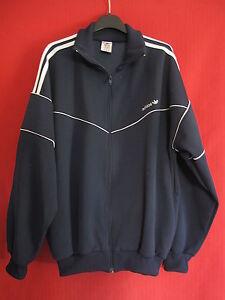 Détails sur Veste Vintage Adidas Marine Sport 90'S Survetement Jacket 186 XL