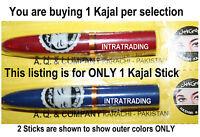 Hashmi Kajal Kohl Black Eyeliner Stick Makeup Nontoxic Fast Shipping 1 Stick