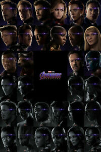 Avengers Endgame All Character Posters