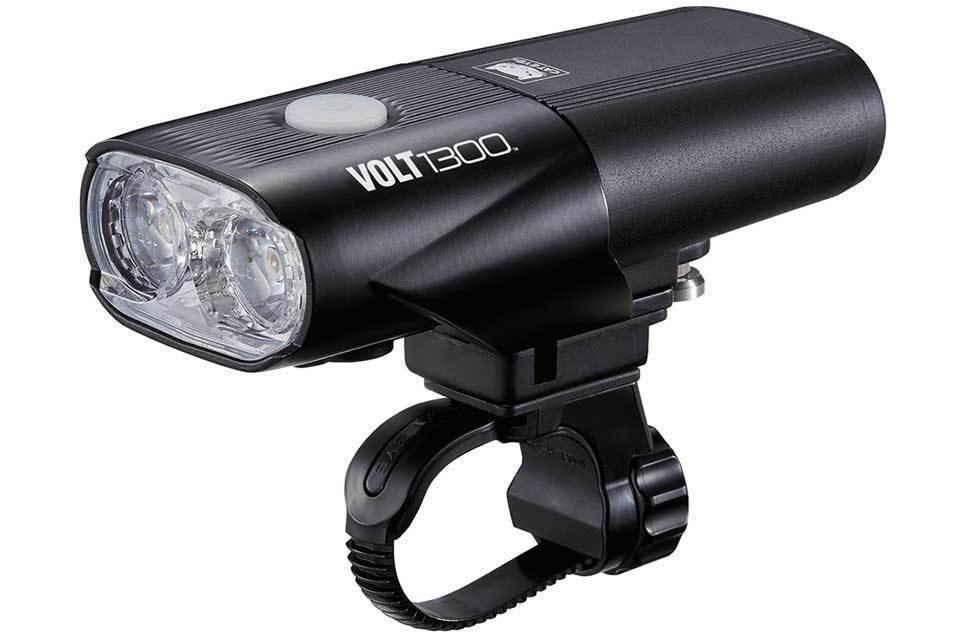 Luz Para Bicicleta Cateye Volt 1300 frontal-LED de luz frontal USB Recargable