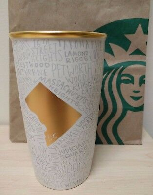 Travel Starbucks Special Edition Washington Double Wall Dc Ceramic dBhsQrCtx