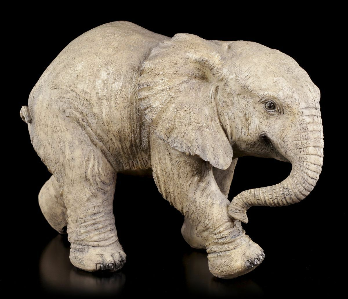 Elefante Figura de Jardín - Baby Figura de Jardín - Decoración Escultura Estatua