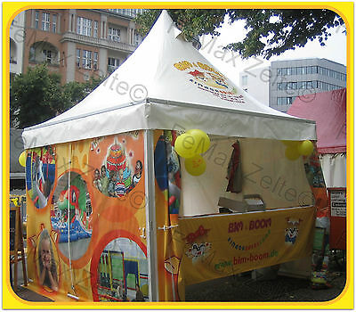 Festzelt Partyzelt Promotionzelt 3x3m Pagodenzelt Profizelt / Farbe nach Wahl
