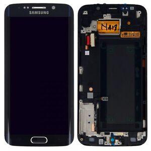 Pantalla-LCD-Juego-Completo-Tactil-negro-para-Samsung-Galaxy-S6-EDGE-G925F