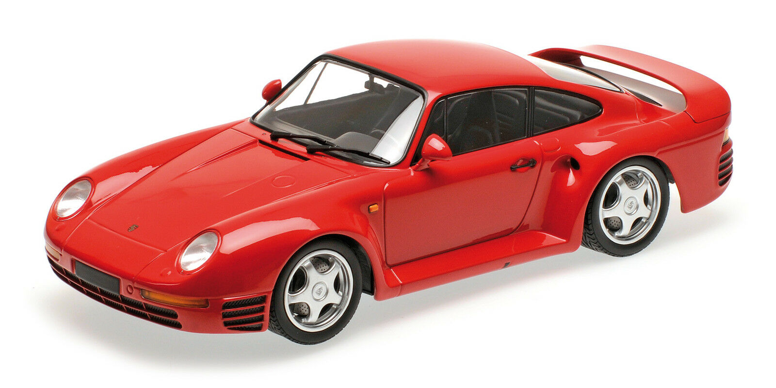 Porsche 959 Red 1987 1:18 Model MINICHAMPS