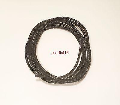 "Wire Loom 1//2/"" X 40/' black plastic split convoluted tubing conduit"