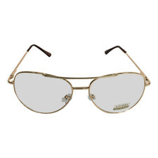 4383ebb3f7f Gold Frames With Clear Lens Aviator Glasses Napoleon Dynamite Bill Lumbergh