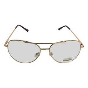 168da1cc95b Gold Frames With Clear Lens Aviator Glasses Napoleon Dynamite Bill ...