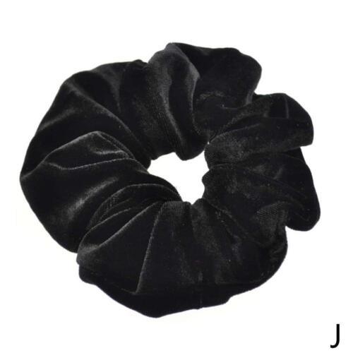 Samt Haarbänder Scrunchies Pferdeschwanz Haarschmuck Elastisches Haar Schal