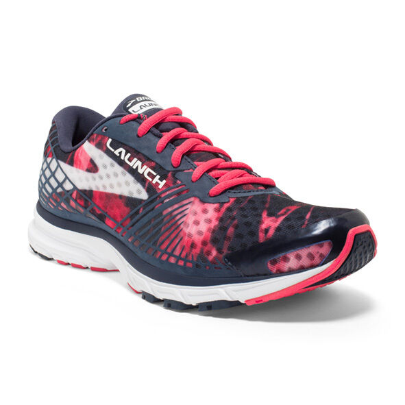 a29fecbcc4c Brooks Launch 3 III Peacoat Teaberry Red Women Running Shoes SNEAKERS  120206 1b 9 for sale online