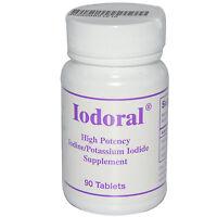 Iodoral 12.5mg Iodine 90 Tablets Optimox Thyroid Support