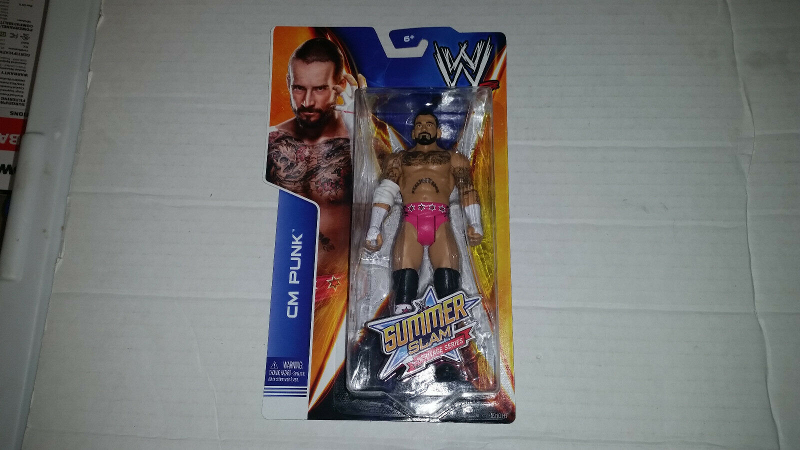 WWE Summer Slam Heritage Series Action Figure Asst. CGH76 NEW SEALED ALL 6