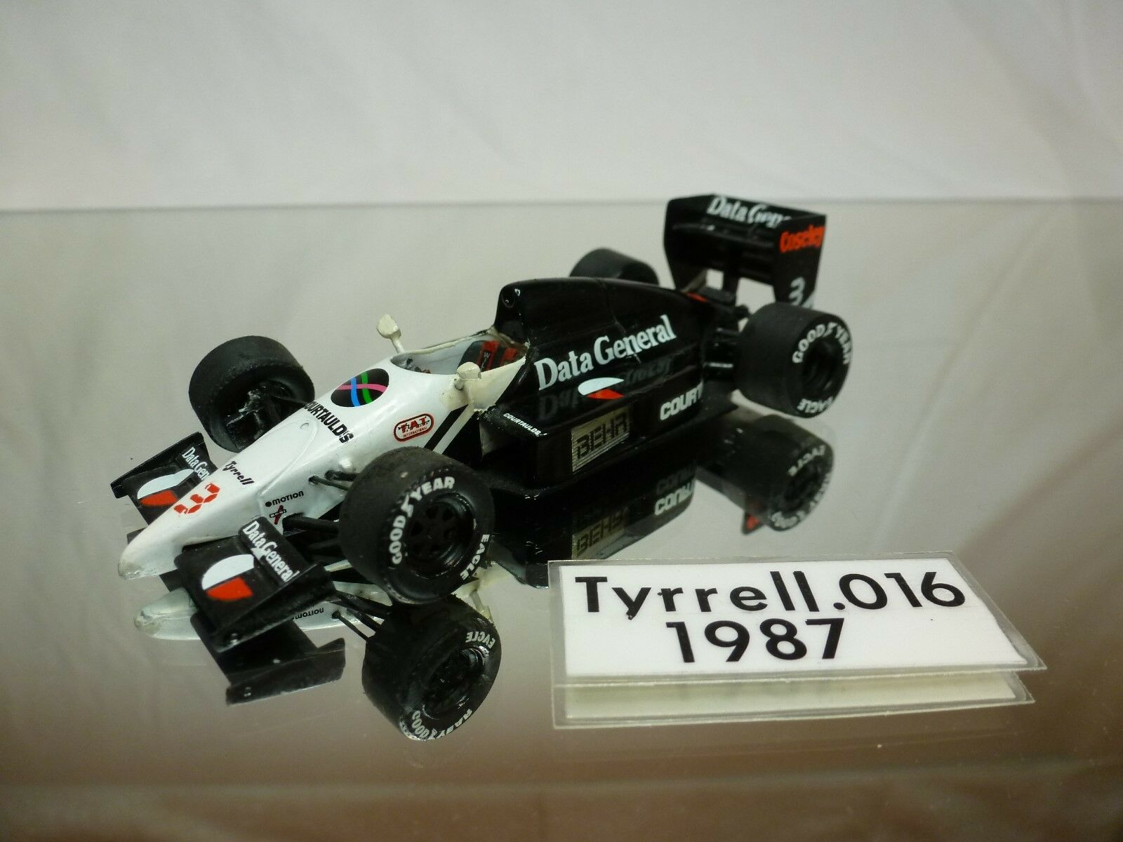MERI TAMEO  - TYRRELL 016 - VERY RARE -  KIT (built)  F1 1 43 - NICE CONDITION