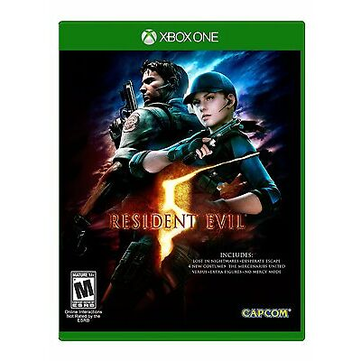 Resident Evil 5 - Standard Edition - Xbox One Brand New