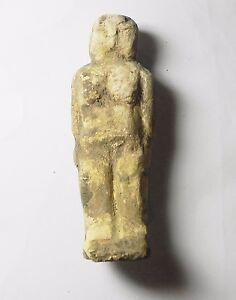 tat23 Pre-dynastic Limestone Figure Of A Female Ancient Egypt Realistic Zurqieh