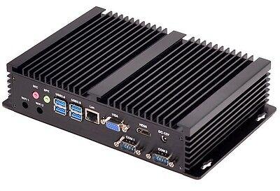 Mini Industrial PC Fanless Intel Core i3 4010U 1.70GHz COM HDMI VGA WIFI DHL P&P