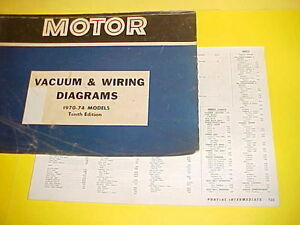 1970 1971 1972 1973 1974 pontiac firebird trans am gto vacuum wiring diagrams ebay. Black Bedroom Furniture Sets. Home Design Ideas