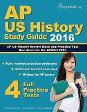 AP US History 2016 Study Guide : AP US History Review Book and Practice Test...