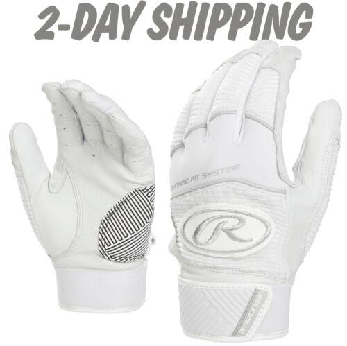 XL/>2-DAY SHIPPING Rawlings WORKHORSE 2.0 White Batting Gloves WH950BG-SM MD L